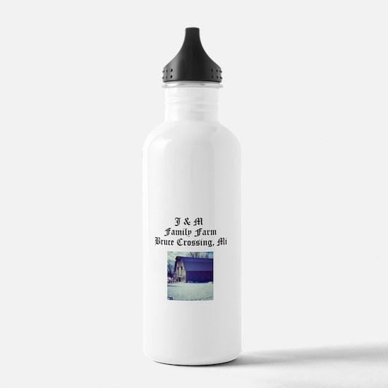 J M Family Farm Water Bottle