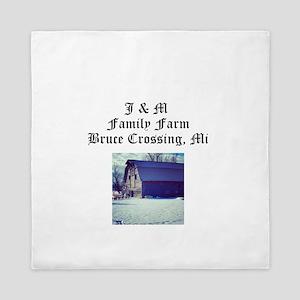 J M Family Farm Queen Duvet