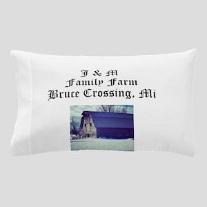 J M Family Farm Pillow Case