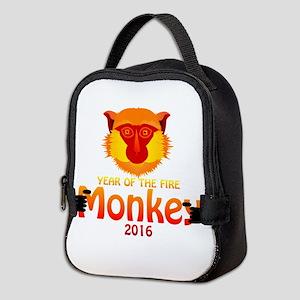 Year of the Monkey Neoprene Lunch Bag