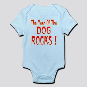 Year of the Dog Infant Bodysuit