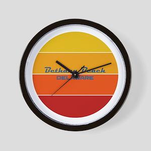 Delaware - Bethany Beach Wall Clock