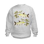 Giant Tigerfish attacks Jewel Cichlids Sweatshirt