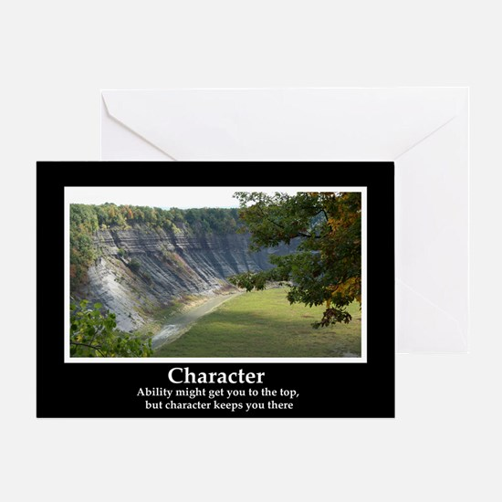 Character Motivational Greeting Card