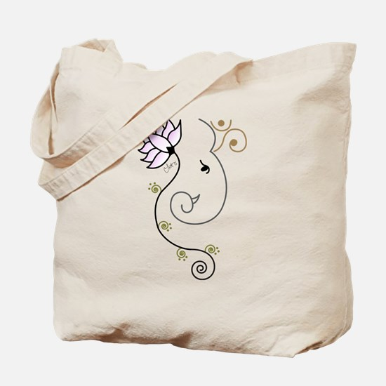 Ohm Ganesha Tote Bag
