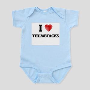I love Thumbtacks Body Suit