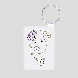 Ohm Ganesha Keychains