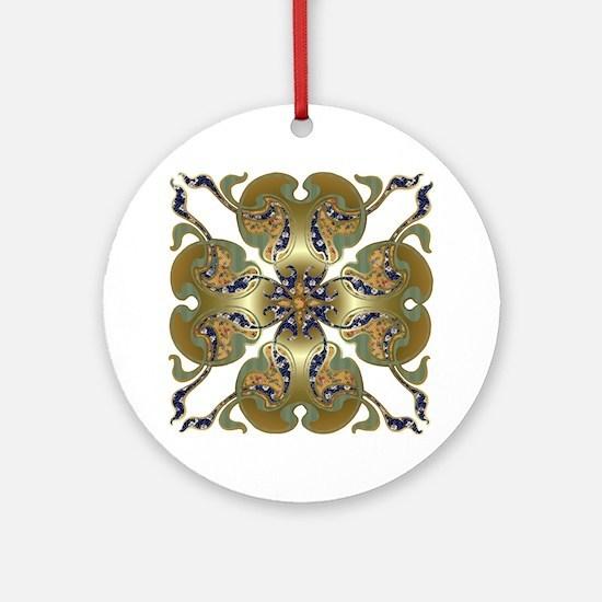 Kimono Bells Ornament (Round)