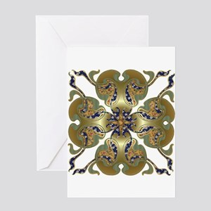 Kimono Bells Greeting Card