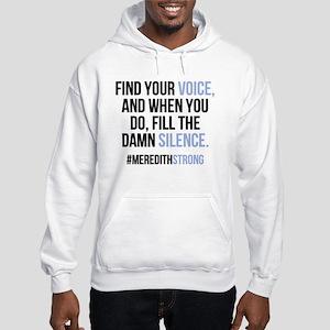 Grey's Anatomy: Find Your Voice Hooded Sweatshirt