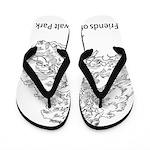 Friends of Zumwalt Park Flip Flops