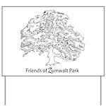 Friends of Zumwalt Park Yard Sign