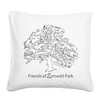 Friends of Zumwalt Park Square Canvas Pillow