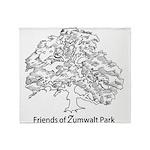 Friends of Zumwalt Park Throw Blanket