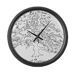 Friends of Zumwalt Park Large Wall Clock