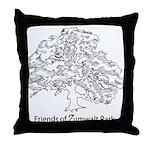 Friends of Zumwalt Park Throw Pillow