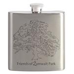Friends of Zumwalt Park Flask