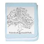 Friends of Zumwalt Park baby blanket