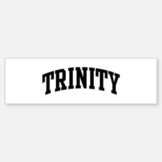 TRINITY (curve) Bumper Bumper Bumper Sticker