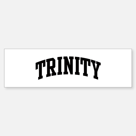 TRINITY (curve) Bumper Bumper Stickers