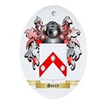Seery Oval Ornament