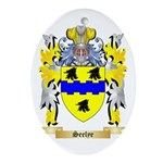 Seelye Oval Ornament