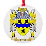 Seeley Round Ornament