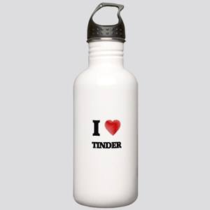 I love Tinder Stainless Water Bottle 1.0L