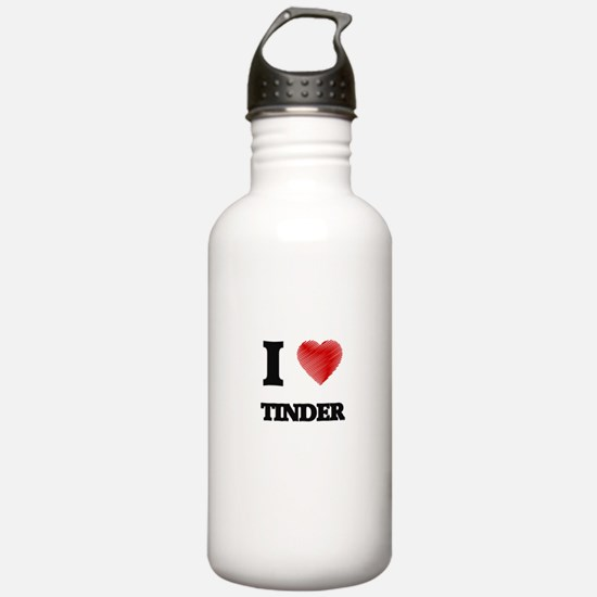 I love Tinder Water Bottle
