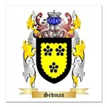 Sedman Square Car Magnet 3