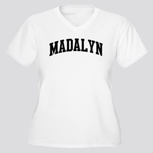 MADALYN (curve) Women's Plus Size V-Neck T-Shirt