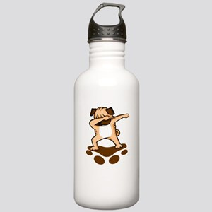 Dabbing Pug Stainless Water Bottle 1.0L