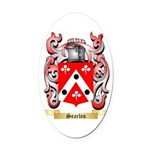 Searles Oval Car Magnet
