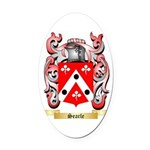 Searle Oval Car Magnet