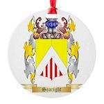 Searight Round Ornament
