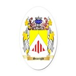 Searight Oval Car Magnet