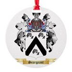Seargeant Round Ornament