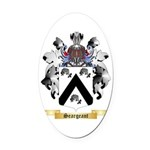 Seargeant Oval Car Magnet