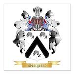 Seargeant Square Car Magnet 3