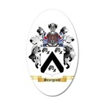 Seargeant 20x12 Oval Wall Decal