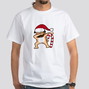 Dabbing Christmas Pug T-Shirt