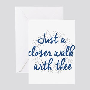 Just a Closer Walk - Inspirational Greeting Cards
