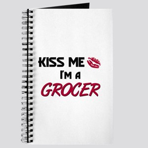 Kiss Me I'm a GROCER Journal