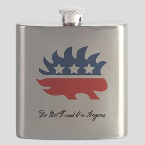 """""""Do Not Tread On Anyone"""" Flask"""