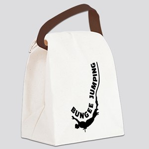 Bungee jumping Canvas Lunch Bag