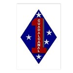 1st Marine Division Postcards (Package of 8)