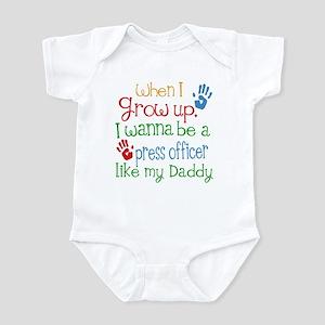 Press Officer Like Daddy Infant Bodysuit