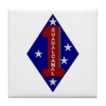 1st Marine Division Tile Coaster