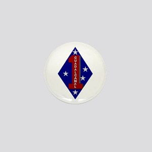 1st Marine Division Mini Button