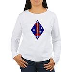 1st Marine Division Women's Long Sleeve T-Shirt